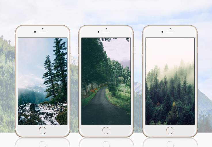 Back to Nature iPhone Wallpaper Collection