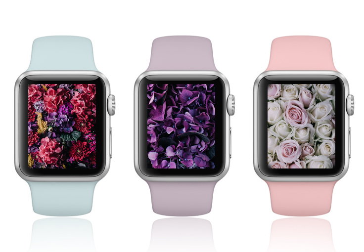 Vintage floral Apple Watch Wallpapers are here!