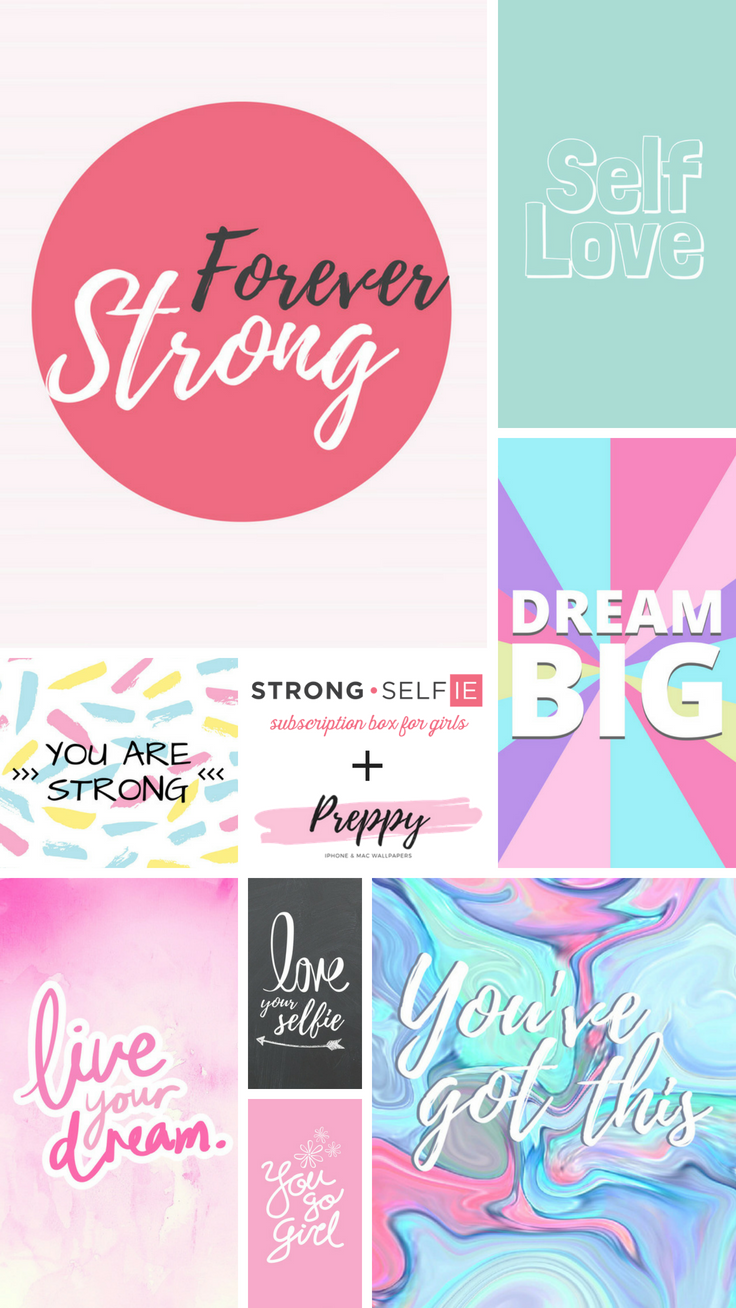 Strong Selfie iPhone Wallpapers