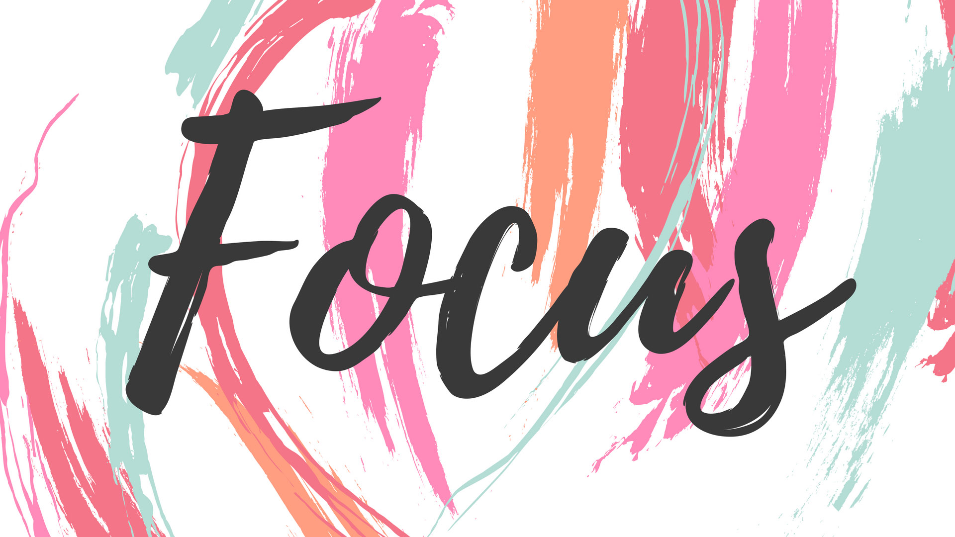 Focus | Girl Boss Mac Wallpapers by PreppyWallpapers.com
