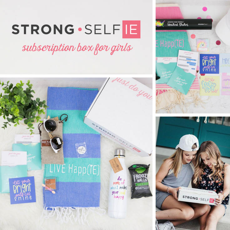 Strong Selfie Subscription Box