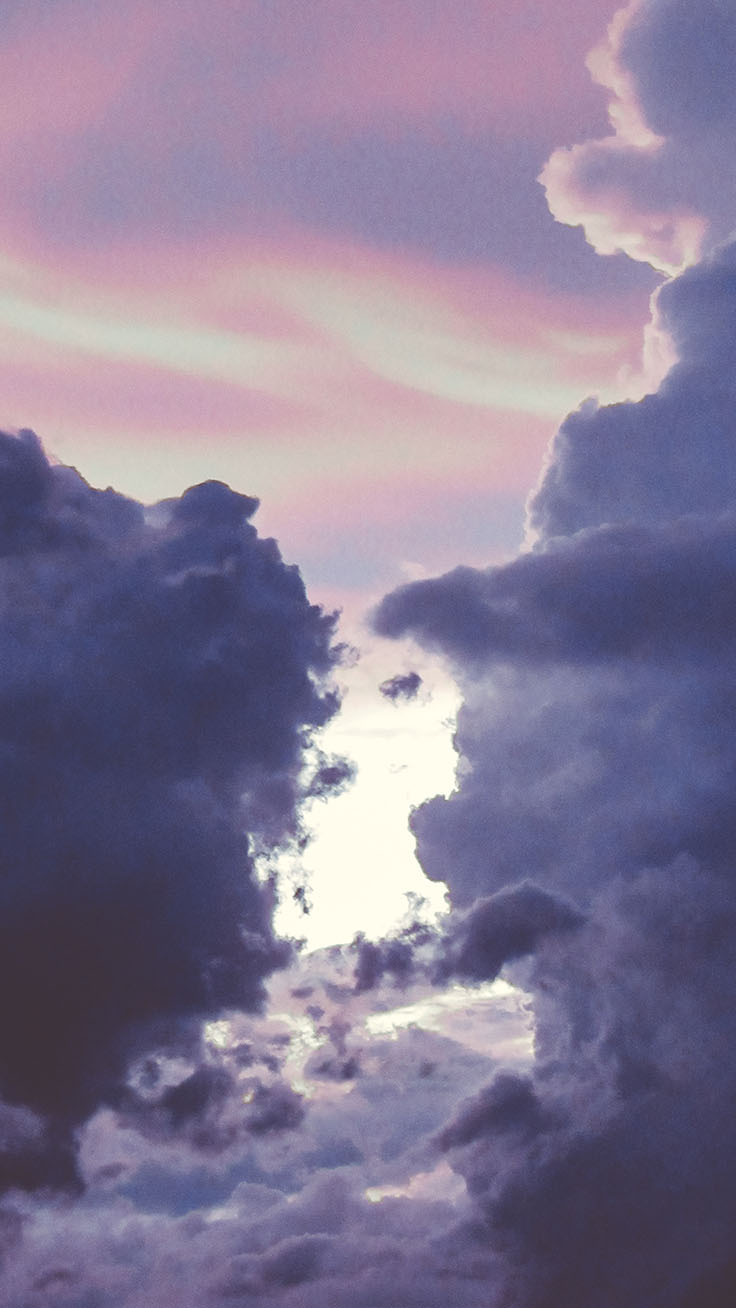 22 Iphone Wallpapers For People Who Live On Cloud 9 Preppy