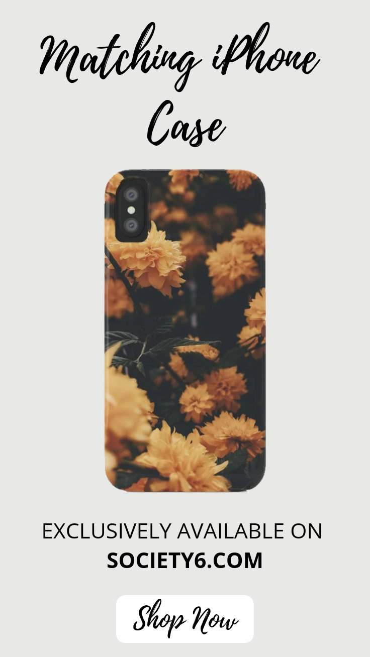 Matching iPhone Case: Yellow Summer
