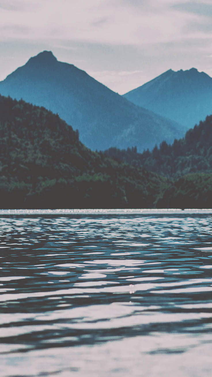 By The Lake iPhone Wallpaper Collection by Preppywallpapers.com