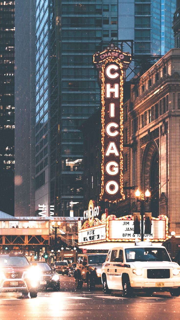Cities by Night iPhone Wallpapers by Preppy Wallpapers