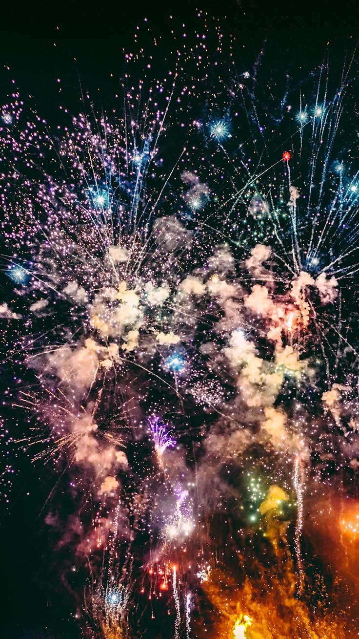 Happy 2019 iPhone Wallpaper by Preppy Wallpapers