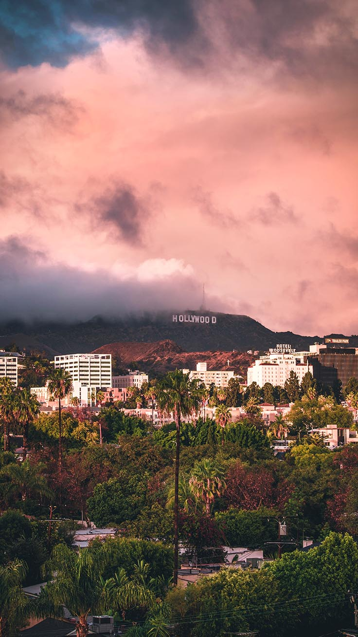 Los Angeles iPhone Wallpapers by Preppy Wallpapers