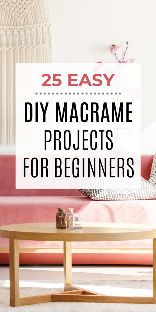 Macrame DIY Easy Beginner Projects Hobby